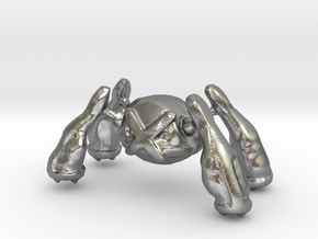 Metagross in Natural Silver