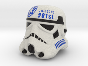 501st Stormtrooper Helmet-TK-12018 in Full Color Sandstone