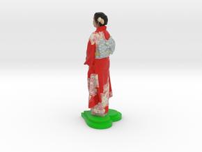 Japanese-Kimono-100mm in Full Color Sandstone: Small