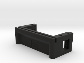 Low Profile Servo Mount in Black Strong & Flexible