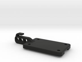 TLR SCTE 3.0 Center Diff Wire Guide in Black Natural Versatile Plastic