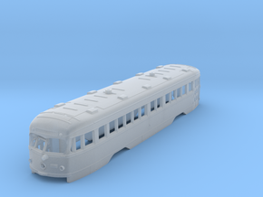 HO Illinois Terminal Double-End PCC Trolley Body in Smooth Fine Detail Plastic
