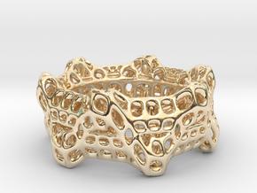 Wheelturning Ring in 14K Yellow Gold