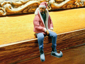 Christmas Drake | Drizzy Dringle in Full Color Sandstone