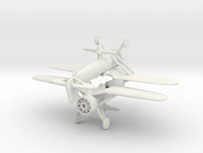 1/200 PZL P11 x2 in White Natural Versatile Plastic