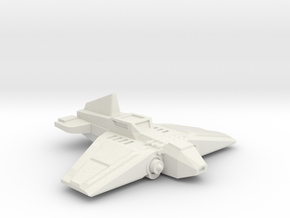 Warthog Ground Attack Fighter in White Strong & Flexible