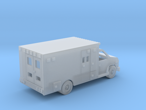 Ambulance Ford E 450 Z Scale in Smooth Fine Detail Plastic