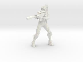 1/60 Nova Shooting in White Natural Versatile Plastic