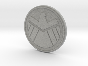 Sheild Decal in Metallic Plastic