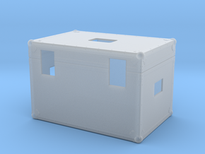 Scale 1/6 Back to the future Plutonium Box in Smooth Fine Detail Plastic