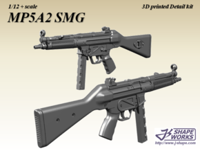 1/9 MP5A2 SMG in Frosted Extreme Detail
