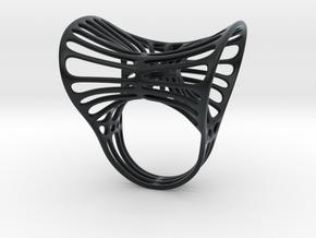 Ring torocentrato leggero in Black Hi-Def Acrylate: 5 / 49