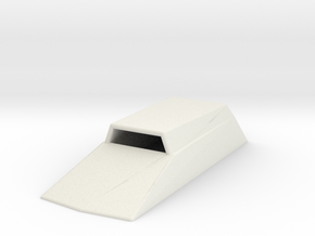 Hood Scoop V2 1/12 in White Natural Versatile Plastic