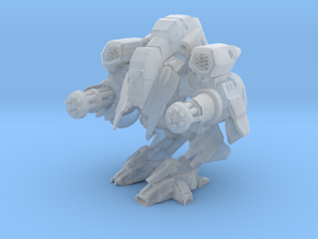 1/150 Terran Viking Assault Walker Mode in Frosted Ultra Detail