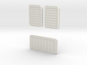 Rb 540 Lfter Set Ersatzteil 1 in White Natural Versatile Plastic: 1:120