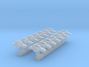1/600 RN WW2 Cruiser Cleats x14 in Smoothest Fine Detail Plastic