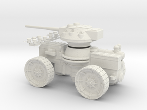 15 mm AQMF SAMSON HEAVY GUN in White Natural Versatile Plastic