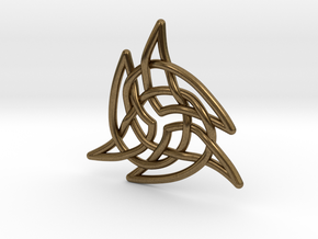 Triquetra 4 in Natural Bronze