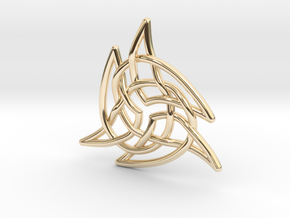 Triquetra 4 in 14K Yellow Gold