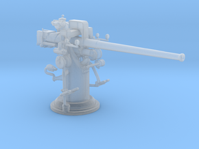 1/192 USN 3''/50 [7.62 Cm] Cal. Deck Gun in Frosted Ultra Detail