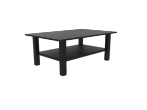 1:24 HEMNES Coffee Table in White Strong & Flexible: 1:24