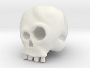 Skull Bob in White Strong & Flexible