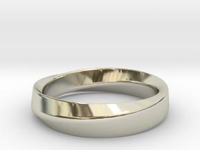 Mobius in 14k White Gold