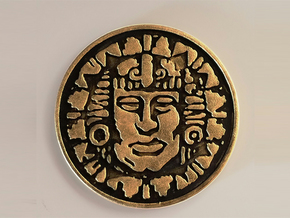 Legends of the Hidden Temple - Pendant of Life in White Natural Versatile Plastic