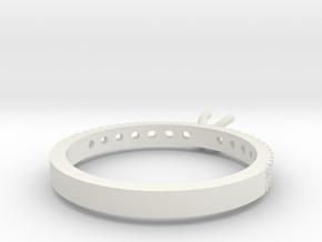 Model-6a8c3f0725f1837f1a1d5a3b54a3f51b in White Strong & Flexible