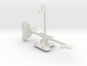 alcatel Pixi 4 (4) tripod & stabilizer mount in White Natural Versatile Plastic