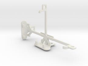 Allview E2 Jump tripod & stabilizer mount in White Natural Versatile Plastic