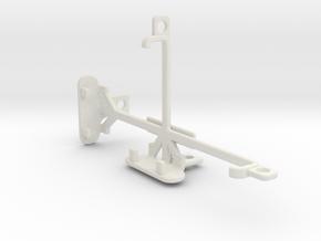 Allview E3 Living tripod & stabilizer mount in White Natural Versatile Plastic