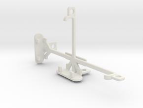 Amazon Fire Phone tripod & stabilizer mount in White Natural Versatile Plastic