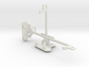 BLU Advance 4.0 L tripod & stabilizer mount in White Natural Versatile Plastic