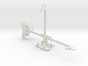 BLU Pure XL tripod & stabilizer mount in White Natural Versatile Plastic