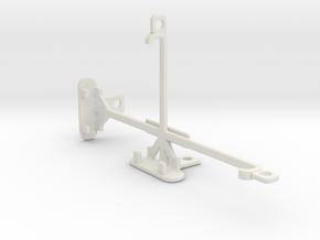 BLU Pure XR tripod & stabilizer mount in White Natural Versatile Plastic
