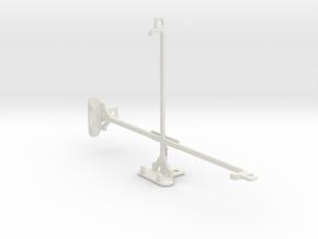 Dell Venue 8 tripod & stabilizer mount in White Natural Versatile Plastic
