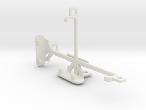 Huawei Honor Bee tripod & stabilizer mount in White Natural Versatile Plastic