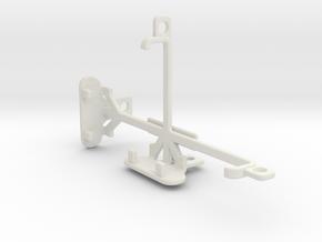 Lenovo A1000 tripod & stabilizer mount in White Natural Versatile Plastic