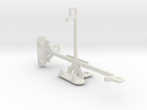 LG Optimus G LS970 tripod & stabilizer mount in White Natural Versatile Plastic