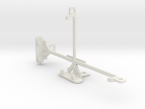 LG V10 tripod & stabilizer mount in White Natural Versatile Plastic