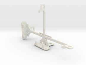 Motorola DROID Maxx tripod & stabilizer mount in White Natural Versatile Plastic