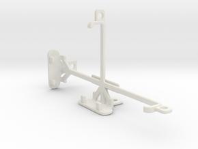 Motorola Droid Maxx 2 tripod & stabilizer mount in White Natural Versatile Plastic