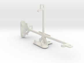 Motorola Moto G4 Play tripod & stabilizer mount in White Natural Versatile Plastic