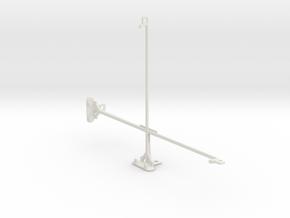 Microsoft Surface 4 Pro tripod & stabilizer mount in White Natural Versatile Plastic