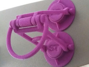 Magnetclamp V1 in Purple Processed Versatile Plastic