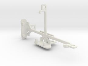 Plum Axe LTE tripod & stabilizer mount in White Natural Versatile Plastic