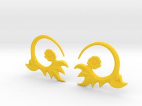 FlowEar in Yellow Processed Versatile Plastic