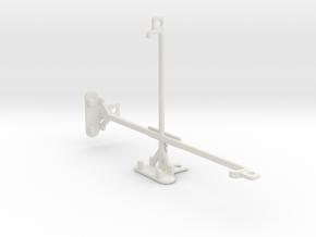 Samsung Galaxy J Max tripod & stabilizer mount in White Natural Versatile Plastic