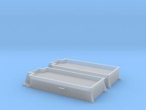 Kohlekasten für MiniTrix T32 Tender 1:160 2 stück in Smoothest Fine Detail Plastic